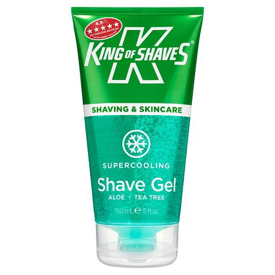King Of Shaves Supercooling Shave Gel 150Ml