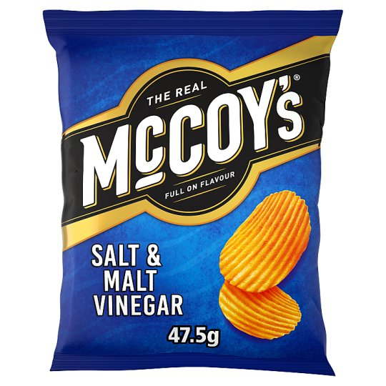 image 1 of Mccoy's Salt And Vinegar Crisps 47.5 G