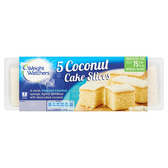 Weight Watchers Coconut Slices 5 Pack