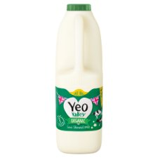 Yeo Valley Organic Semi Skimmed Milk 1.5 Litre