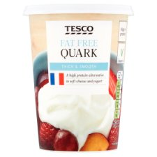 Tesco Quark Fat Free Soft Cheese 500G