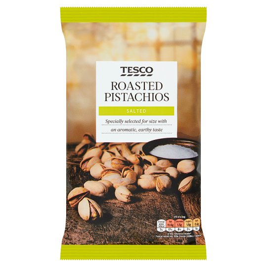 Tesco Roasted And Salted Pistachios 300 G
