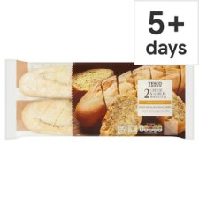 Tesco Cheese And Garlic Butter Baguette 2 Pack, 425 G