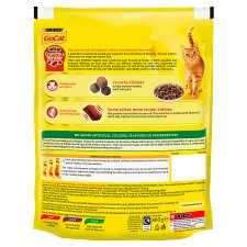 image 2 of Go Cat Crunchy And Tender Beef Chicken And Vegetable 800G