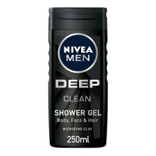 Nivea Men Shower Gel Deep Clean 250Ml