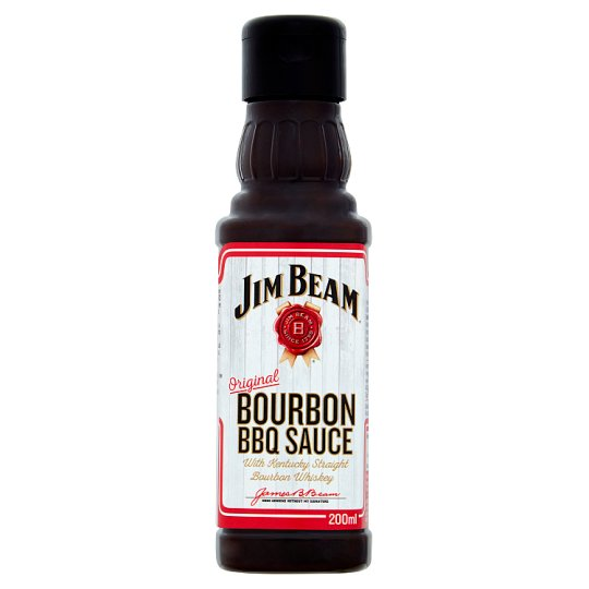 Jim Beam Bourbon Bbq Sauce 200Ml