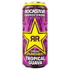 Rockstar Punched Tropical Guava Drink 500Ml