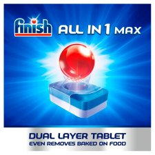 image 3 of Finish All In One Max Lemon 58 Dishwasher Tablets