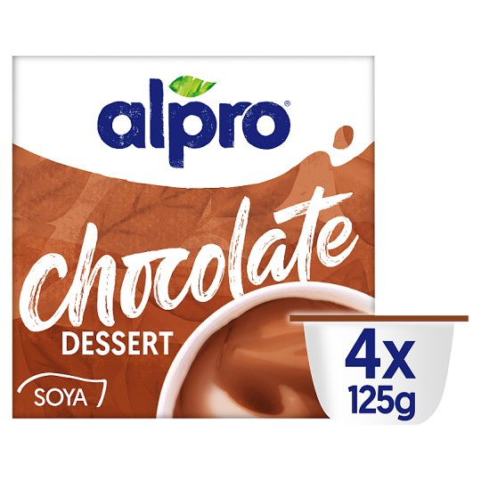 image 1 of Alpro Chocolate Soya Dessert 4 X 125G