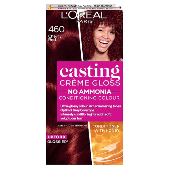 image 1 of L'oreal Casting Creme Gloss Cherry Red 460 Semi-Permanent Hair Dye