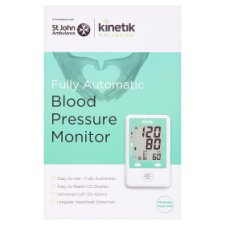 Kinetic Fully Automatic Blood Pressure Monitor