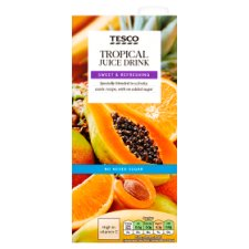 Tesco Tropical Juice Drink 1 Litre