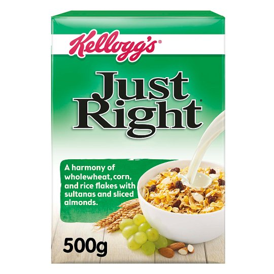 Kelloggs Just Right Cereal 500G