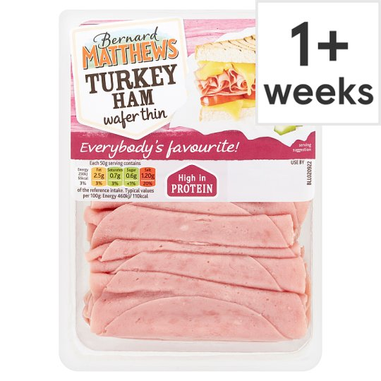 Bernard Matthews Wafer Thin Turkey Ham 250G