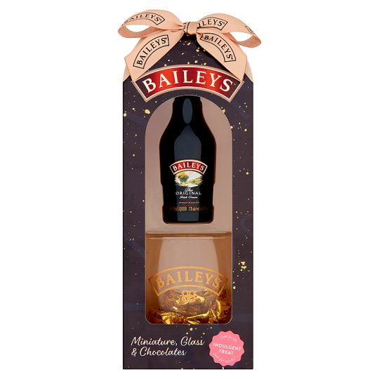 Baileys Mini, Glass And Chocolate Truffle Gift Box