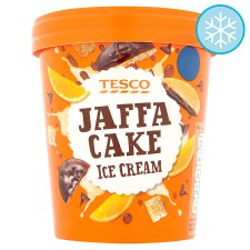 Tesco Jaffa Cake Ice Cream