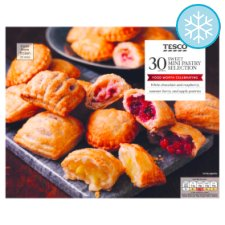 Tesco 30 Sweet Mini Pastry Selection 800G
