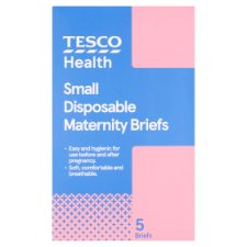 Tesco Small Maternity Brief 5 Pack