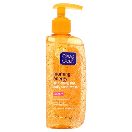 Clean And Clear Morning Energy Face Wash 150Ml