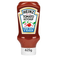 Heinz Tomato Ketchup 50% Less Sugar/Salt 570Ml