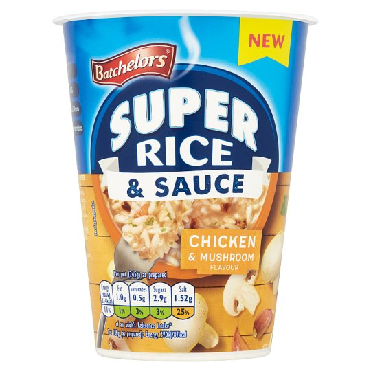 Batchelors Super Rice And Sauce Chicken And Mushroom 60G
