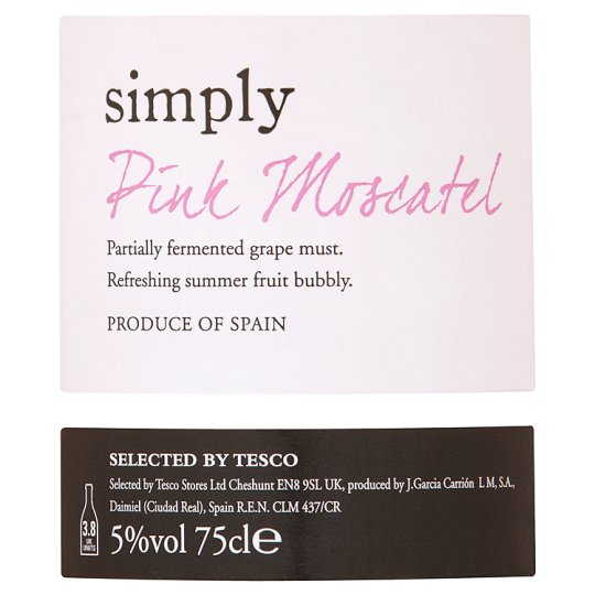 Simply Pink Moscatel 75Cl