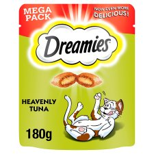 image 1 of Dreamies Tuna Cat Treats 180G