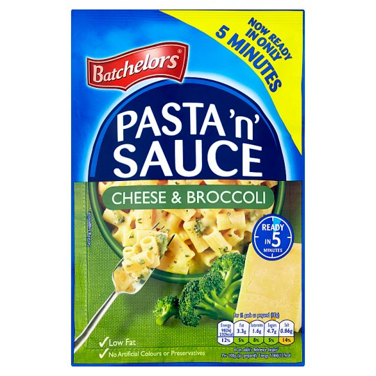 Batch Pasta 'N' Sauce Cheese And Broccoli 110G