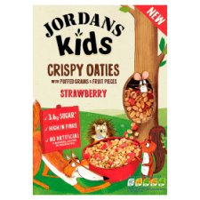 Jordans Kids Grinola Strawberry 400G