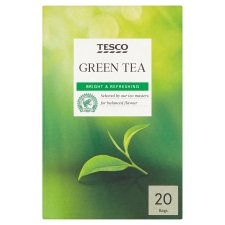 Tesco Green Tea 20 Tea Bags 50G