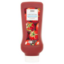 Tesco Tomato Ketchup Reduced Salt And Sugar 945G