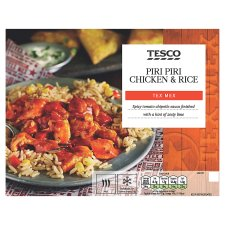 Tesco Tex Mex Piri Piri Chicken And Rice 450G