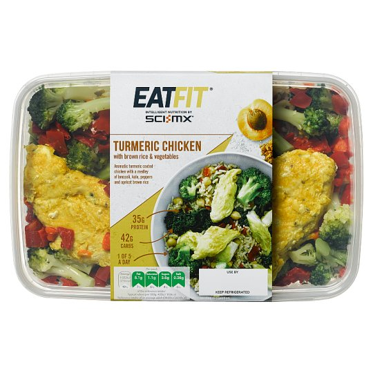Eat Fit Turmeric Chicken 370G