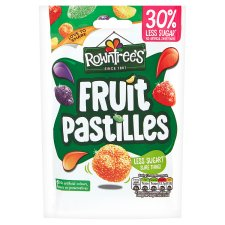 Rowntrees Fruit Pastilles 30% Reduced Sugar 110G