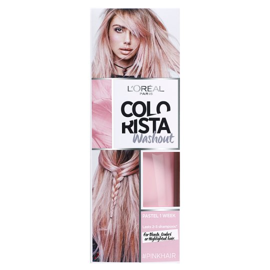 image 1 of L'Oreal Colorista Washout Pink Semi-Permanent Hair Dye