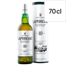 Laphroaig Islay Single Malt 10Yr Whisky 70Cl