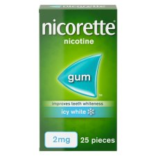 image 1 of Nicorette Icy White Gum 2Mg 25S