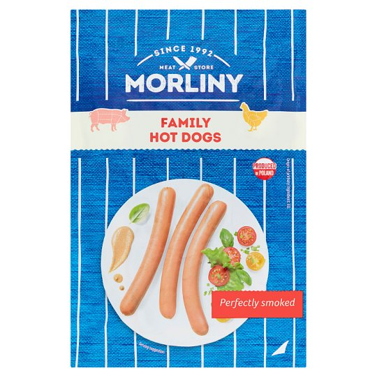 Morliny Hotdog Family Pack 550G