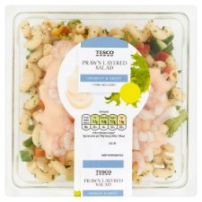 Tesco Prawn Layered Salad 380G