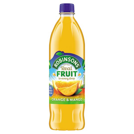 Robinsons Orange And Mango No Added Sugar 1L