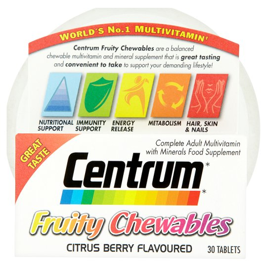 Centrum Chewables 30S