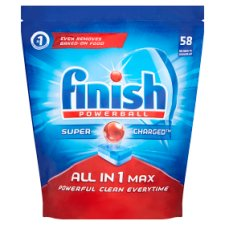 Finish All In One Max Original 58 Dishwasher Tablets