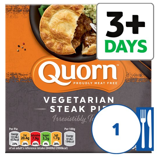 Quorn Meat Free Steak Style Pie 235G