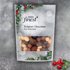Tesco Finest Belgian Chocolate Nut Selection 225G