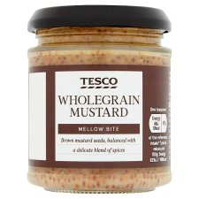 Tesco Wholegrain Mustard 180G