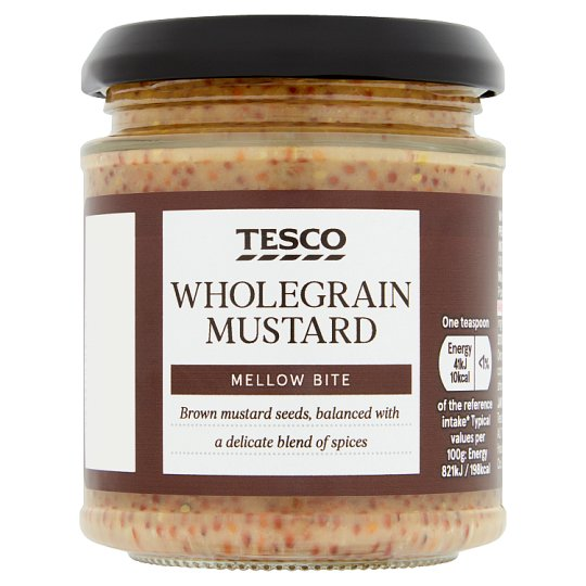 whole grain dijon mustard 7 3 oz walmart com grain mustard whole grain ...