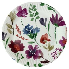 Floral Butterfly Plate