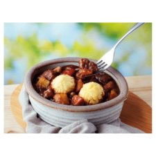 image 2 of Tesco Free From Beef Casserole And Dumplings Ready Meal 430G