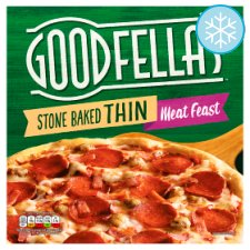 Goodfella's Stonebake Thin Meat Feast Pizza 353G