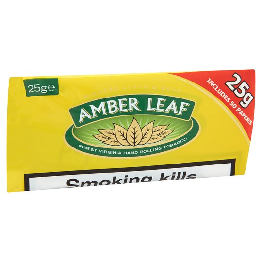 Amber Leaf Roll Your Own 25G
